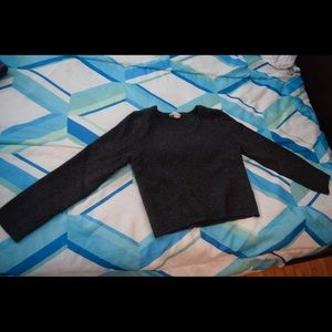 Knit Long Sleeve Croptop